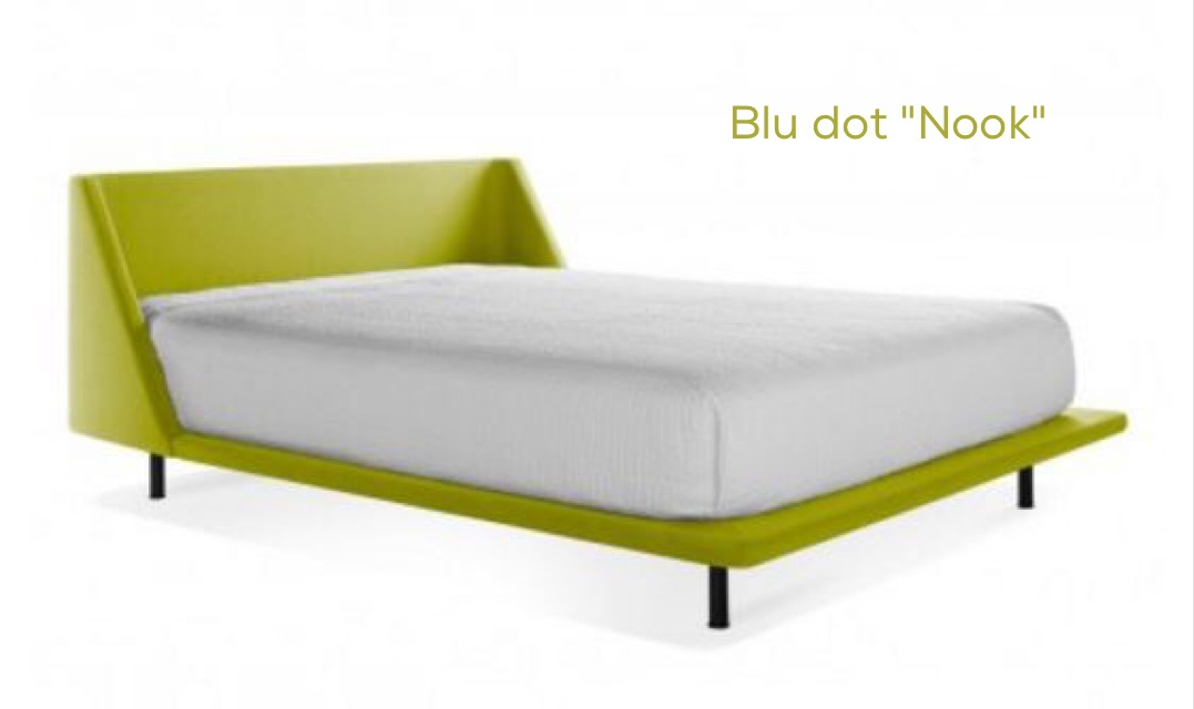 Blu Dot Nook Queen Bed
