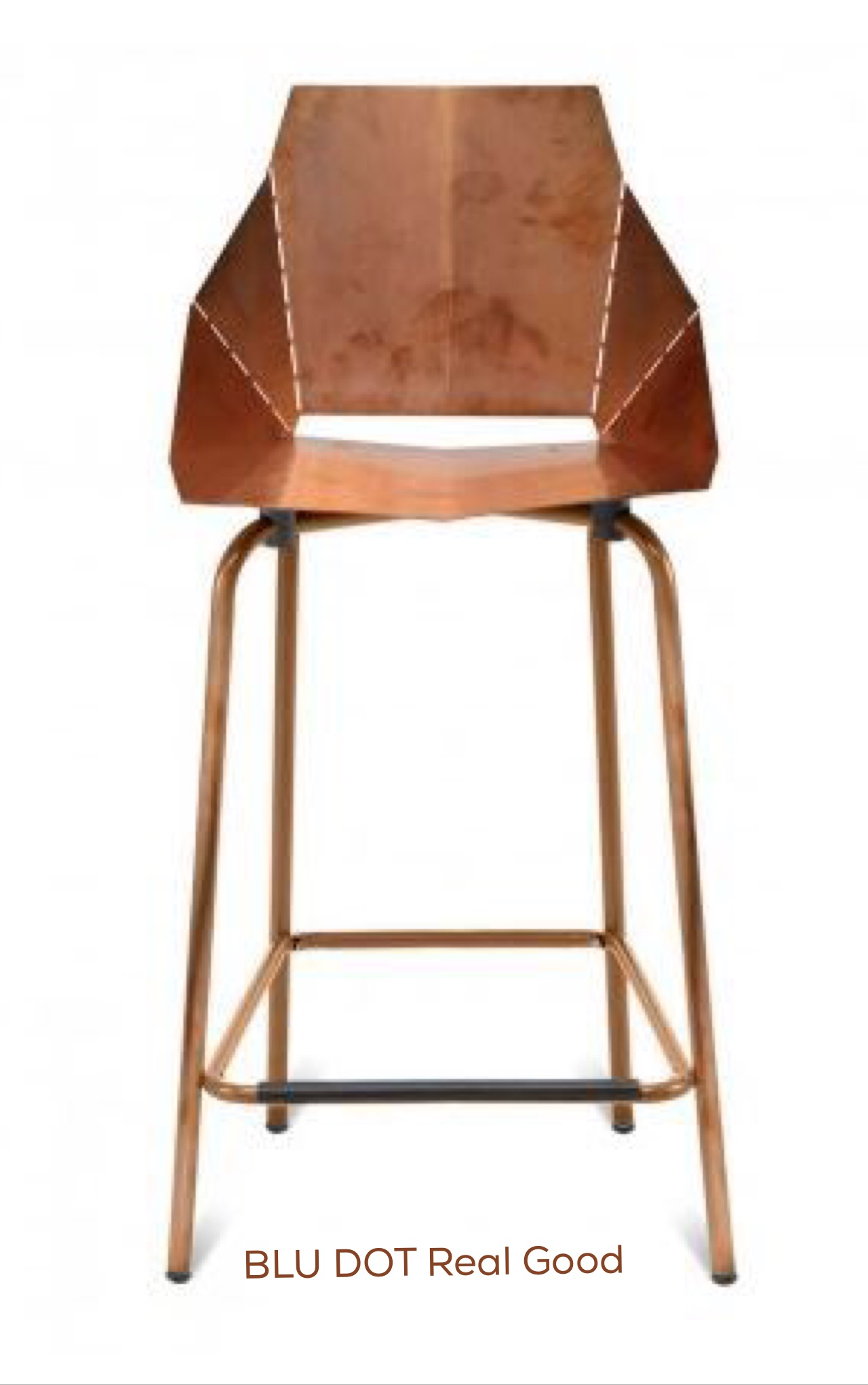 Blu Dot Real Good Copper Stool