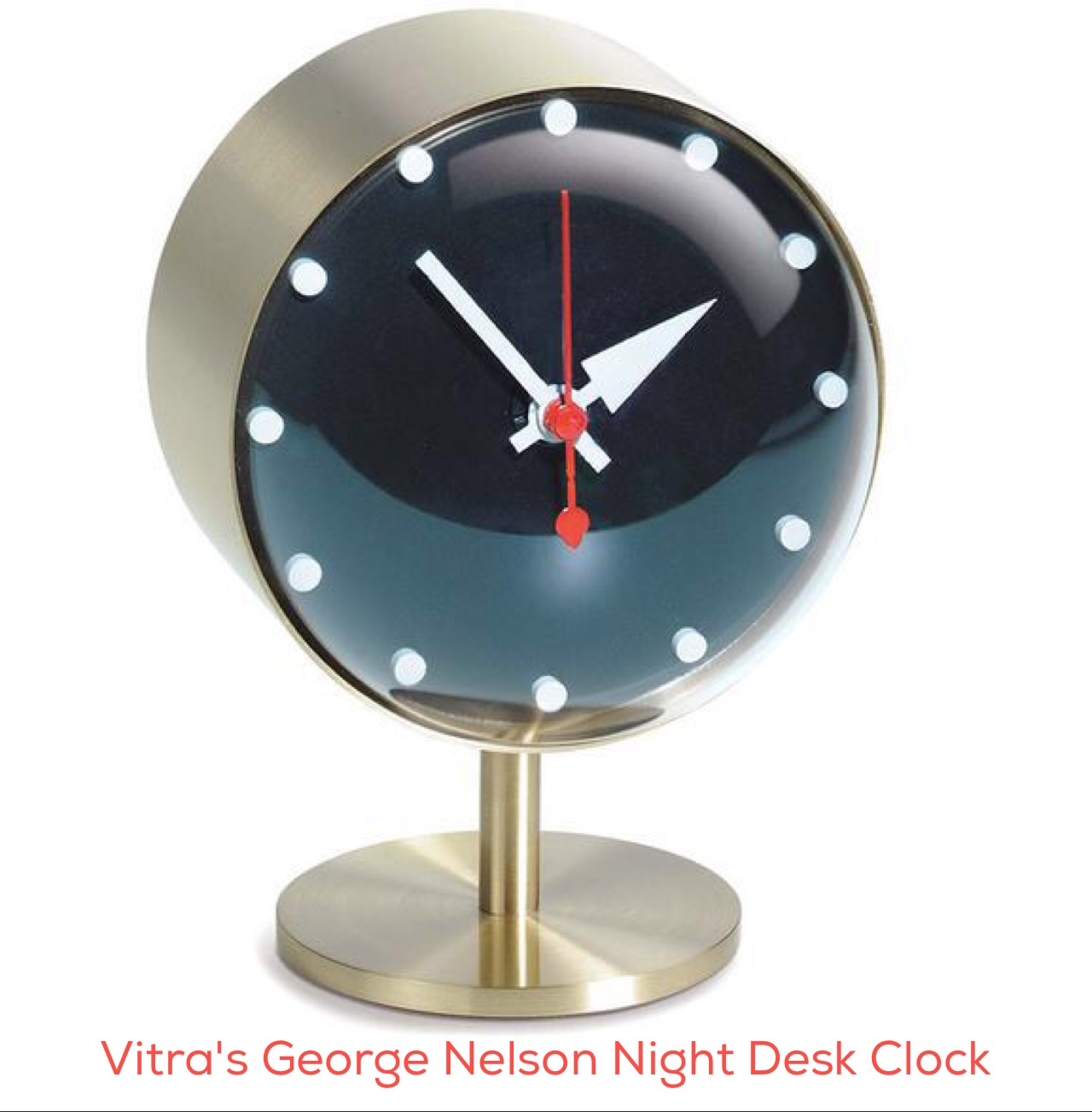 Vitra George Nelson Night Desk Clock