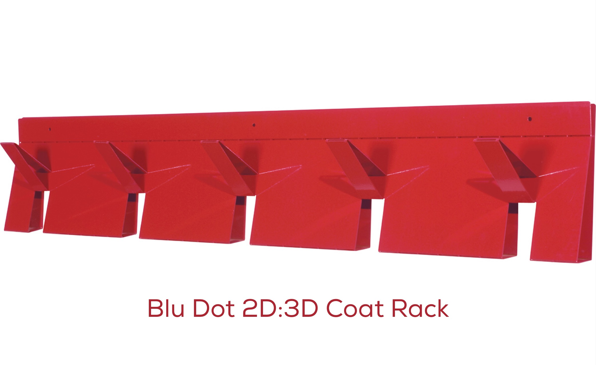 Blu Dot 2D:3D Coat Rack