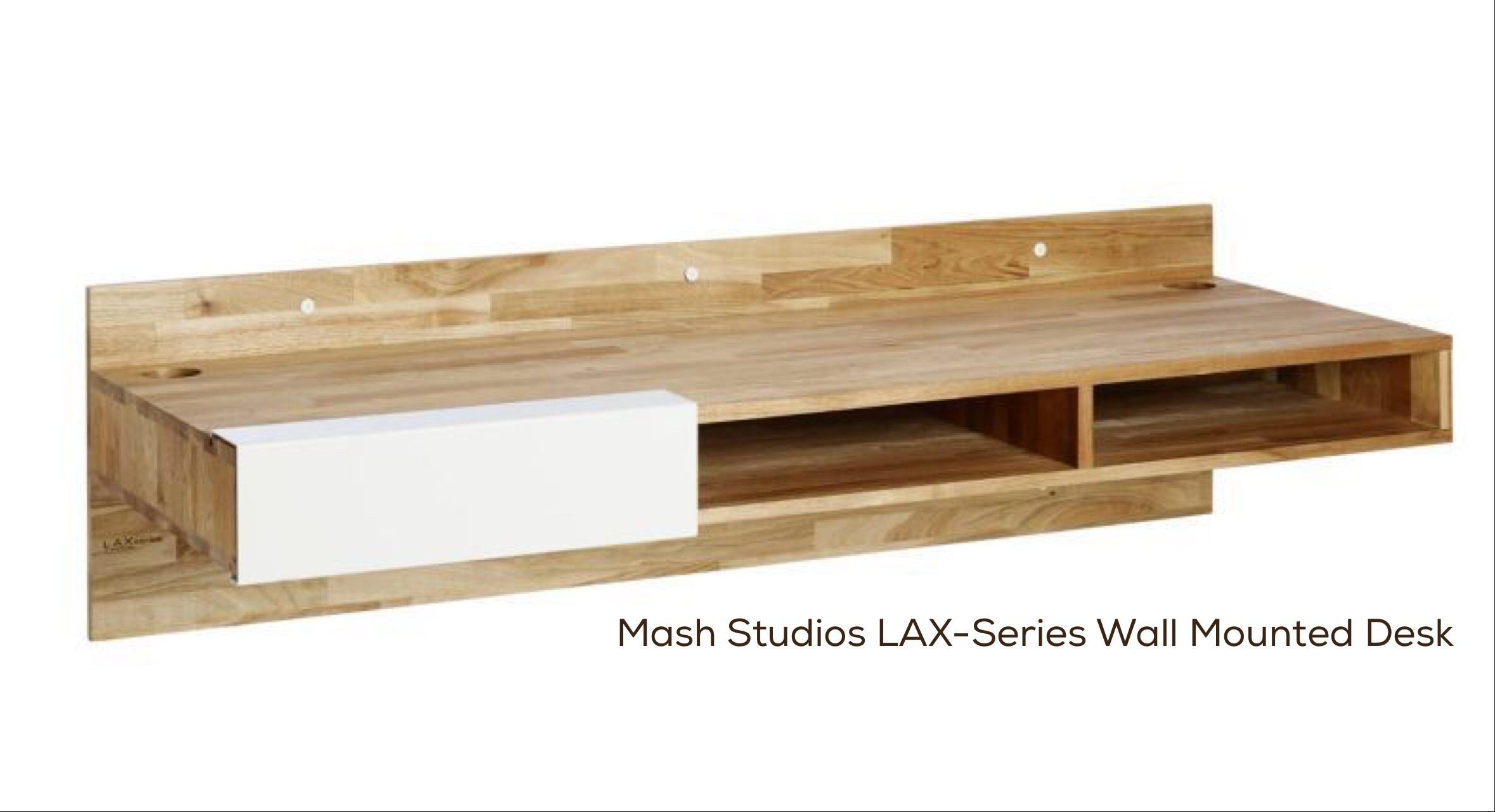 Mash Studios LAX-Series Wall Mounted Desk