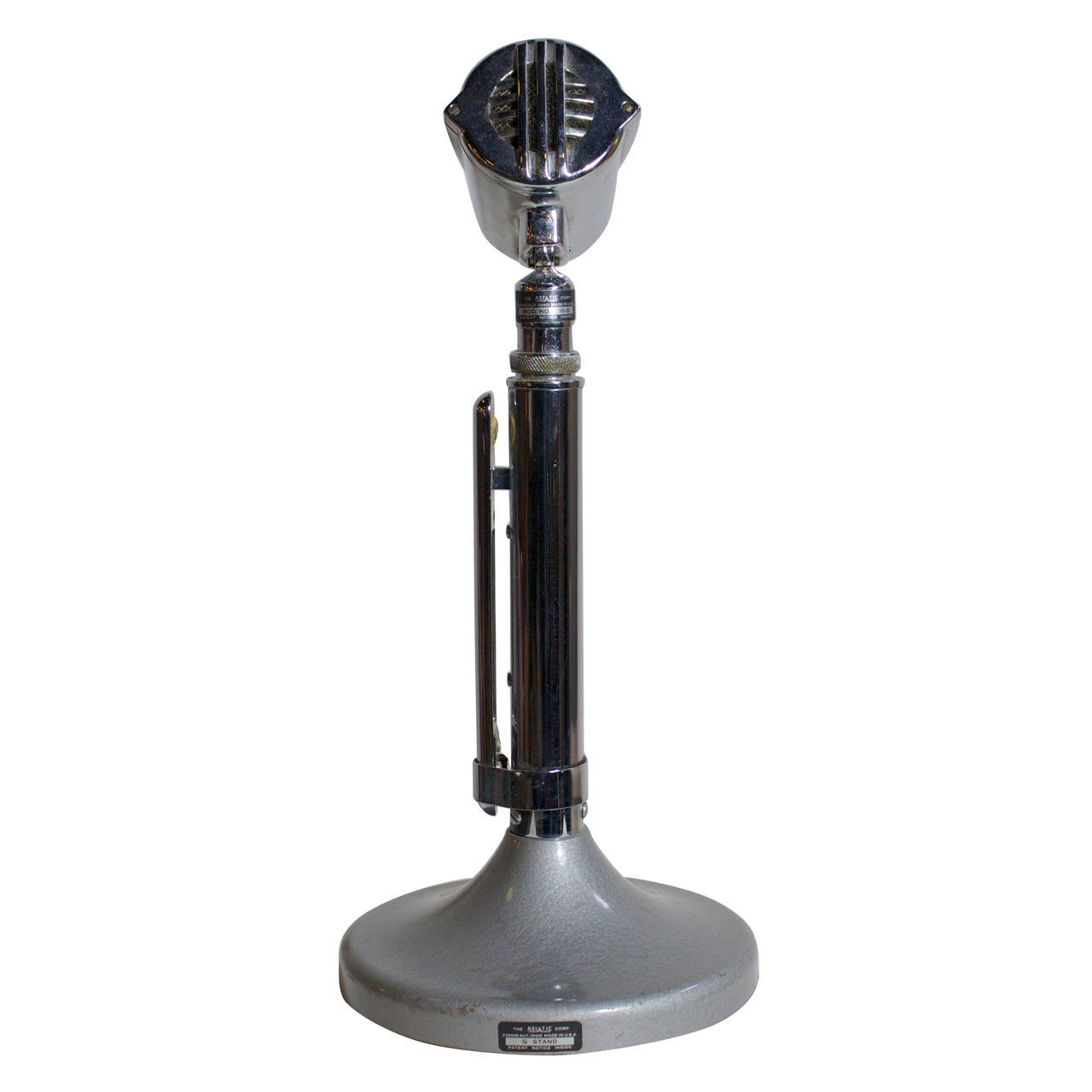 Vintage Microphone and Stand